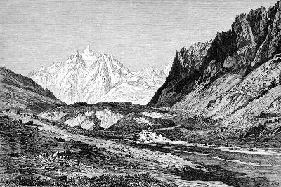 The Shchurovskiy Glacier, Russia, 1895--Giclee Print