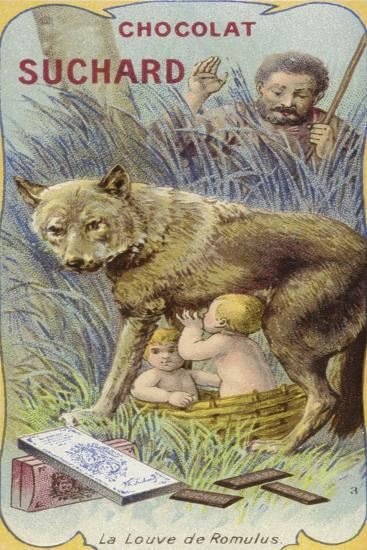 The She-Wolf and Romulus and Remus--Giclee Print