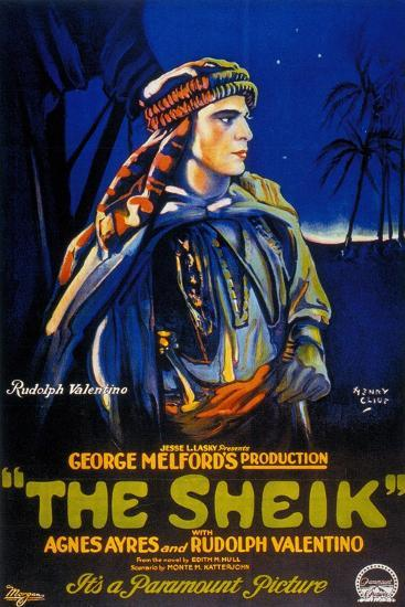 The Sheik, 1921, Directed by George Melford--Giclee Print