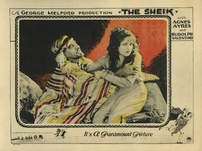 The Sheik, 1921--Art Print