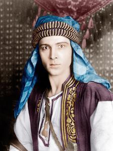 THE SHEIK, Rudolph Valentino, 1921