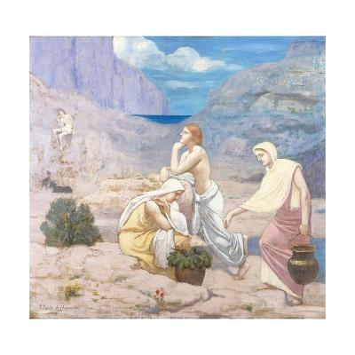 The Shepherd's Song-Pierre Puvis de Chavannes-Giclee Print