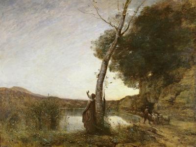 The Shepherd's Star, 1864-Jean-Baptiste-Camille Corot-Giclee Print