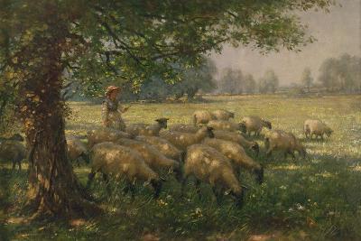 The Shepherdess-William Kay Blacklock-Giclee Print