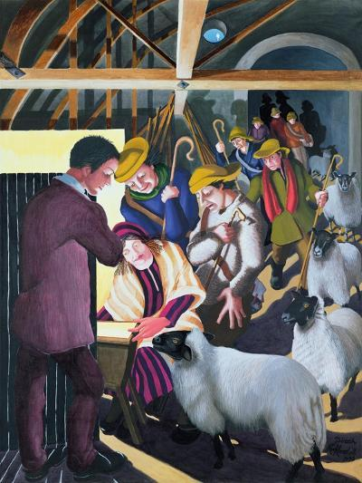 The Shepherds Went to See the Baby, 1998-Dinah Roe Kendall-Giclee Print