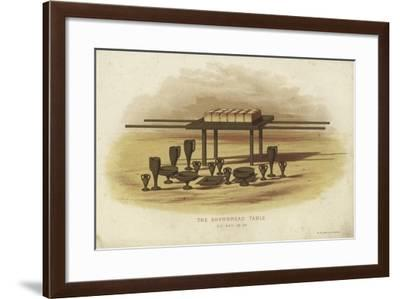 The Shewbread Table--Framed Giclee Print