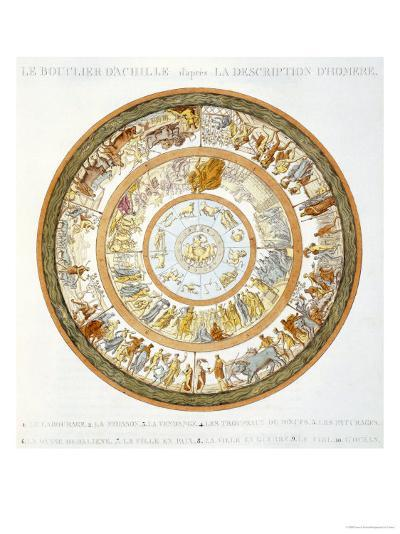 The Shield of Achilles, After the Description in Homer's Iliad, 1815--Giclee Print