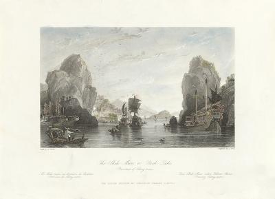 The Shih-Mun or Rock Gates (Province of Kiang-nan)-Thomas Allom-Premium Giclee Print