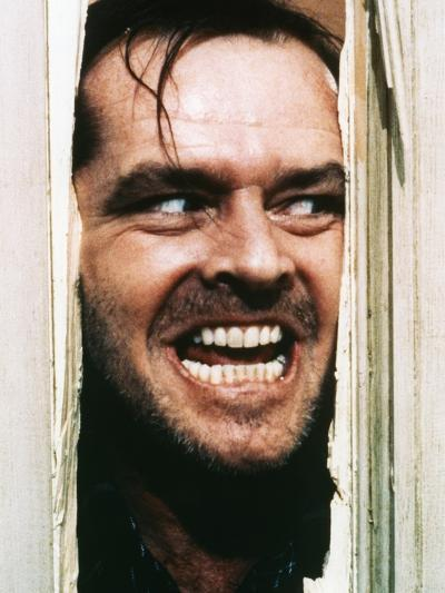 The Shining, Jack Nicholson, Directed by Stanley Kubrick, 1980--Photo