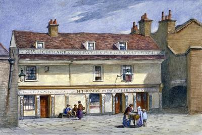 The Ship Aground Public House, Wolseley Street, Bermondsey, London, C1875-JT Wilson-Giclee Print