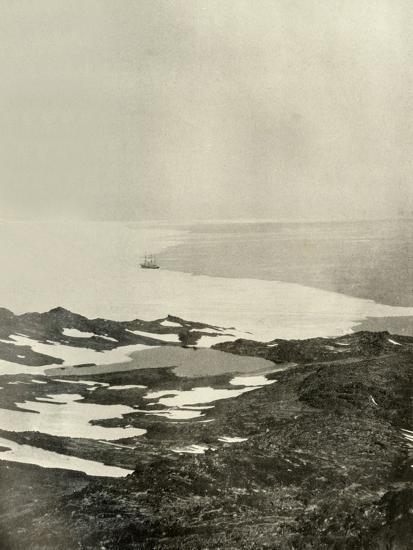 'The Ship off Pram Point, Just Before Leaving for the North', c1908, (1909)-Unknown-Photographic Print