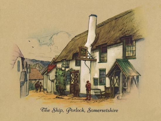 'The Ship, Porlock, Somersetshire', 1939-Unknown-Giclee Print