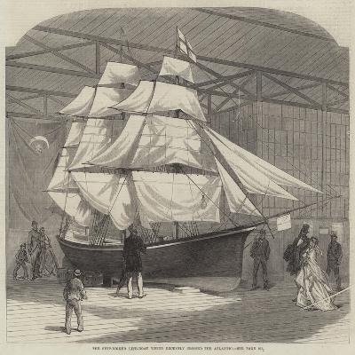 The Ship-Rigged Life-Boat Which Recently Crossed the Atlantic--Giclee Print
