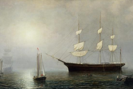 The Ship Starlight, C.1860-Fitz Henry Lane-Giclee Print