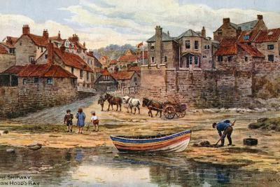 The Shipway, Robin Hood's Bay-Alfred Robert Quinton-Giclee Print
