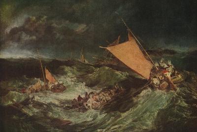 The Shipwreck, c1805-J^ M^ W^ Turner-Giclee Print