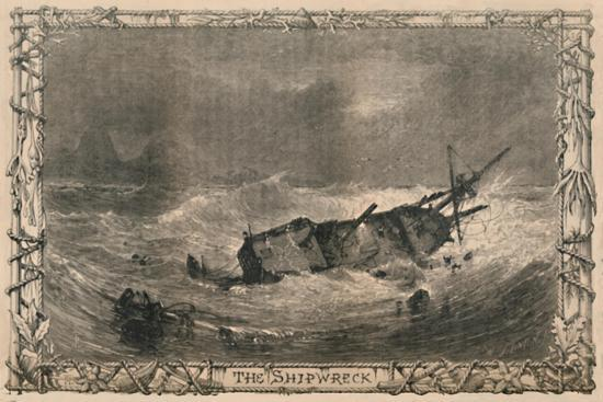 'The Shipwreck', c1870-Unknown-Giclee Print