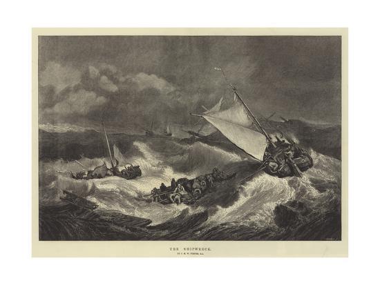 Resultado de imagen de turner the shipwreck