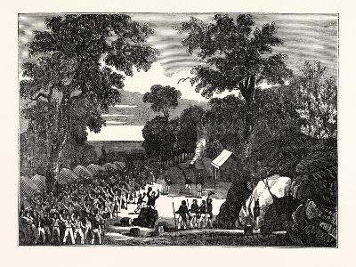 The Shipwrecked Crew of the Alceste, on the Island of Polo Leat--Giclee Print