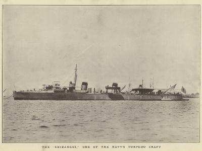 "The ""Shirangui"", One of the Navy's Torpedo Craft--Photographic Print"