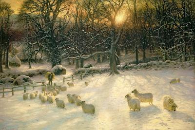 The Shortening Winter's Day Is Near a Close-Joseph Farquharson-Giclee Print