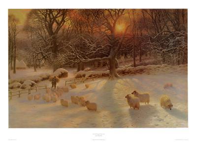 The Shortening Winter's Day-Joseph Farquharson-Art Print
