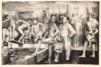 The Shower-Bath, 1917-George Wesley Bellows-Giclee Print