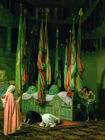 The Shrine of Imam Hussein-Jean Leon Gerome-Giclee Print