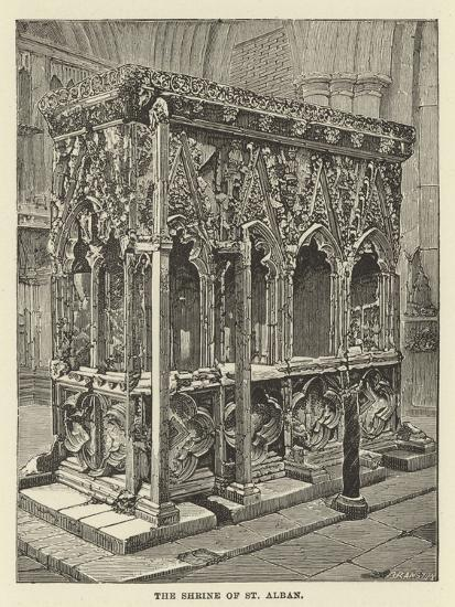 The Shrine of St Alban--Giclee Print