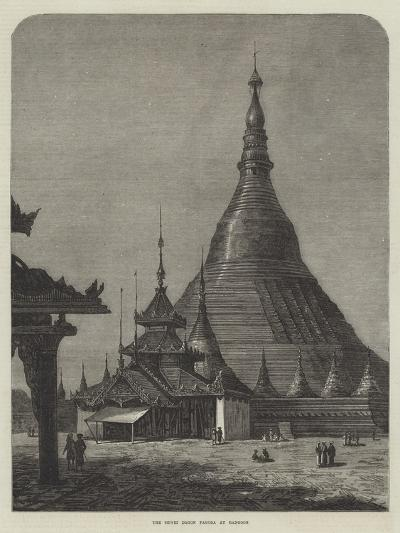 The Shwei Dagon Pagoda at Rangoon--Giclee Print