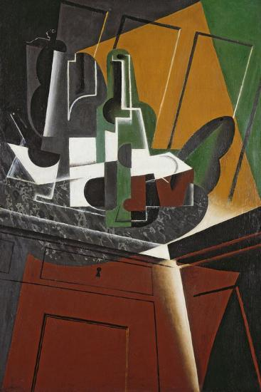 The Sideboard, 1917-Juan Gris-Giclee Print