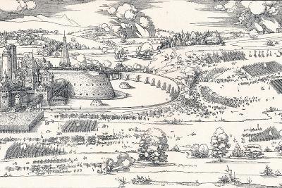The Siege of a Fortress I, 1527-Albrecht D?rer-Giclee Print