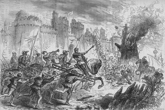 'The Siege of Berwick', c1880-Unknown-Giclee Print