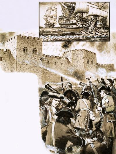 The Siege of Derry--Giclee Print