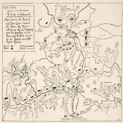 The Siege of Ladysmith--Giclee Print