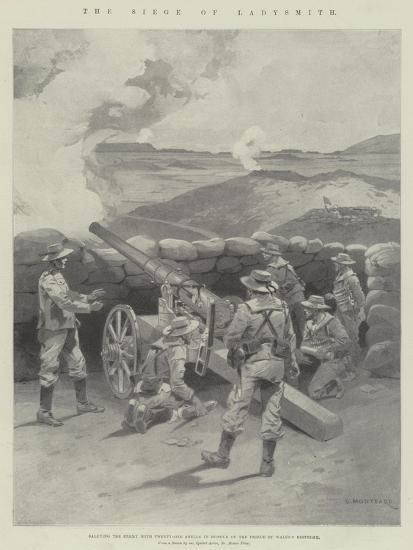 The Siege of Ladysmith-Charles Auguste Loye-Giclee Print