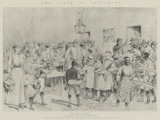 The Siege of Ladysmith-Melton Prior-Giclee Print