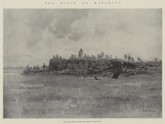 The Siege of Mafeking-Charles Auguste Loye-Giclee Print