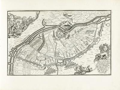 The Siege of Narva in 1700, 1702-1703-Pieter Mortier-Giclee Print