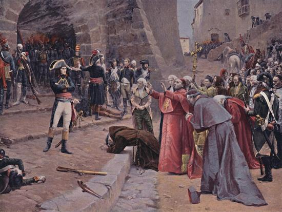'The Siege of Pavia', 1796, (1896)-Unknown-Giclee Print
