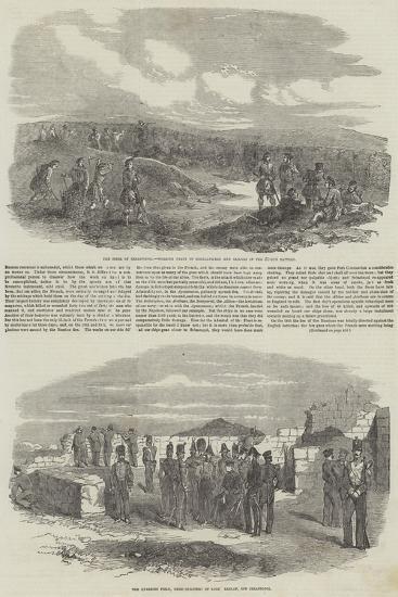 The Siege of Sebastopol--Giclee Print