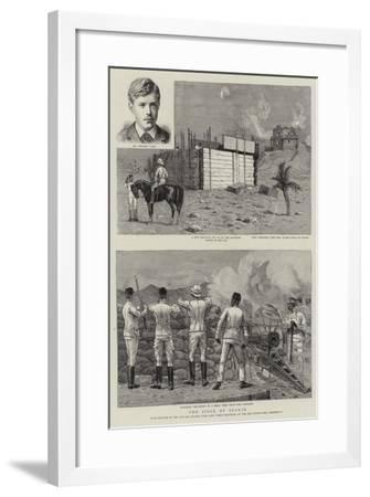 The Siege of Suakin-Joseph Nash-Framed Giclee Print