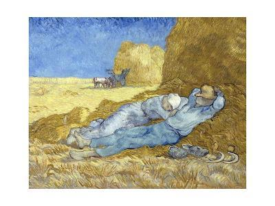 The Siesta (After Millet)-Vincent van Gogh-Giclee Print