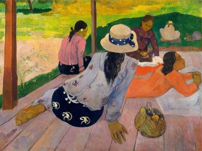 The Siesta, c.1892-94-Paul Gauguin-Giclee Print