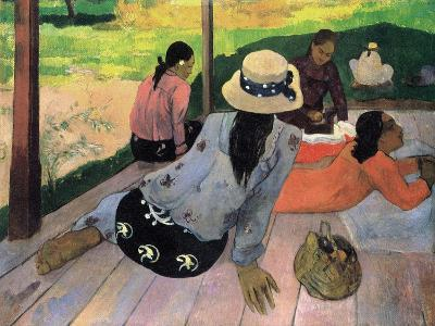 The Siesta-Paul Gauguin-Art Print