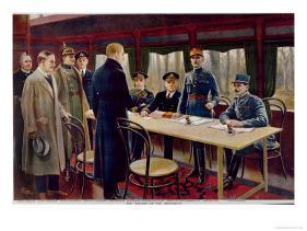 the signing of the armistice on 11th november 1918 at 5 a m 1918