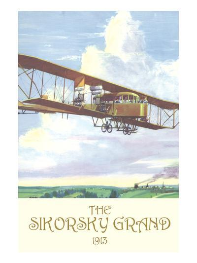 The Sikorsky Grand, 1913-Charles H. Hubbell-Art Print