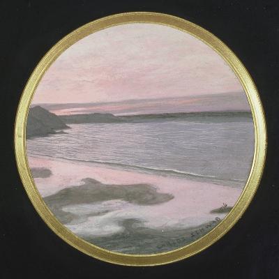 The Silent Sea, 1916-Carlos Schwabe-Giclee Print