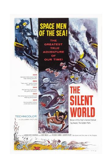 The Silent World--Giclee Print