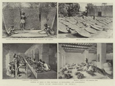 The Silk Industry in India--Giclee Print